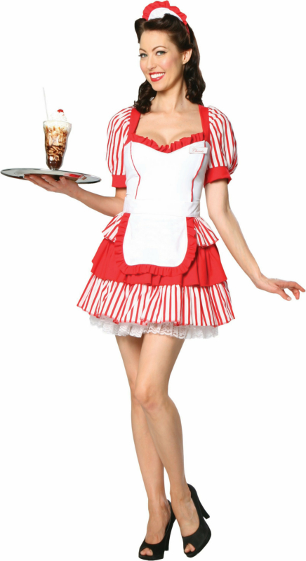 Diner Delight Adult Costume