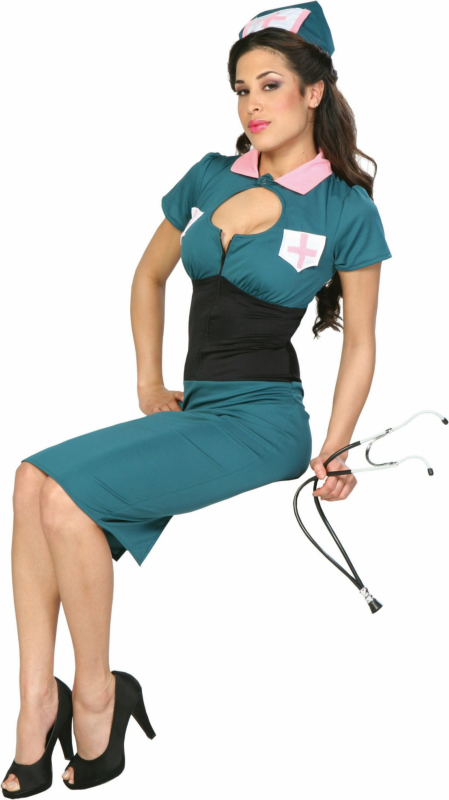 Night Nurse Nora Adult Costume