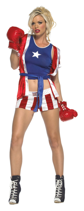 Knock Out Champ Adult Costume