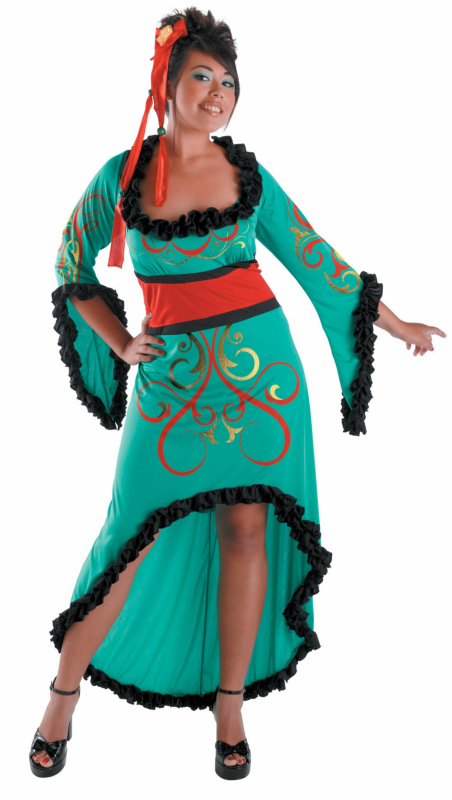 Jade Princess Adult Plus Costume