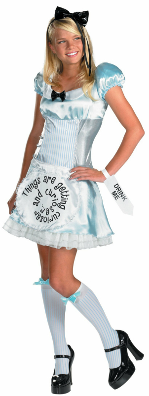 Alice in Wonderland Alice Adult Costume