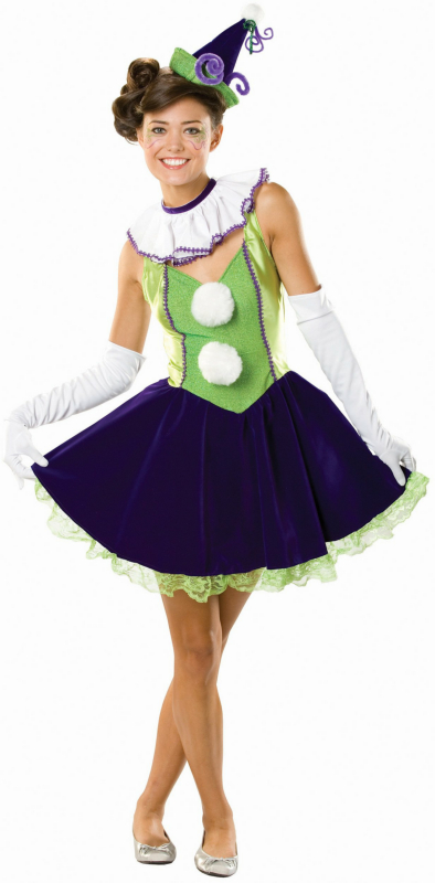 Cosette the Clown Adult Circus Costume