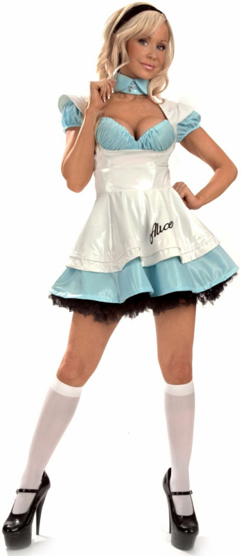 Vinyl Alice Adult Costume