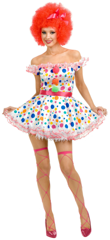 Clown Adult Plus Costume
