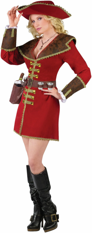 Caribbean Rum Runner Adult Costume