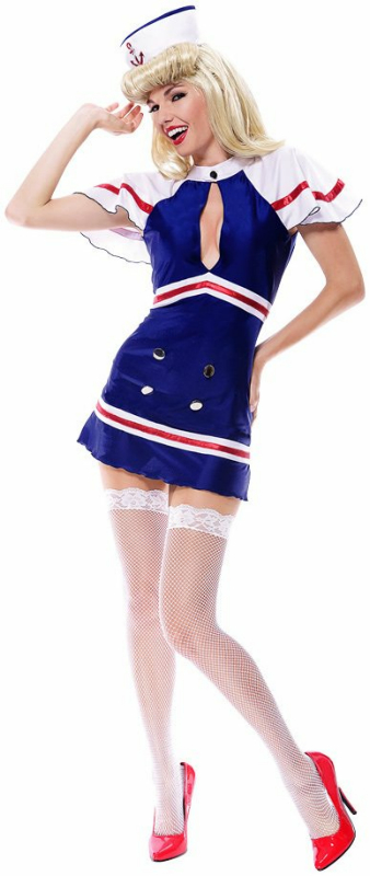 Sexy Sailorette Adult Costume