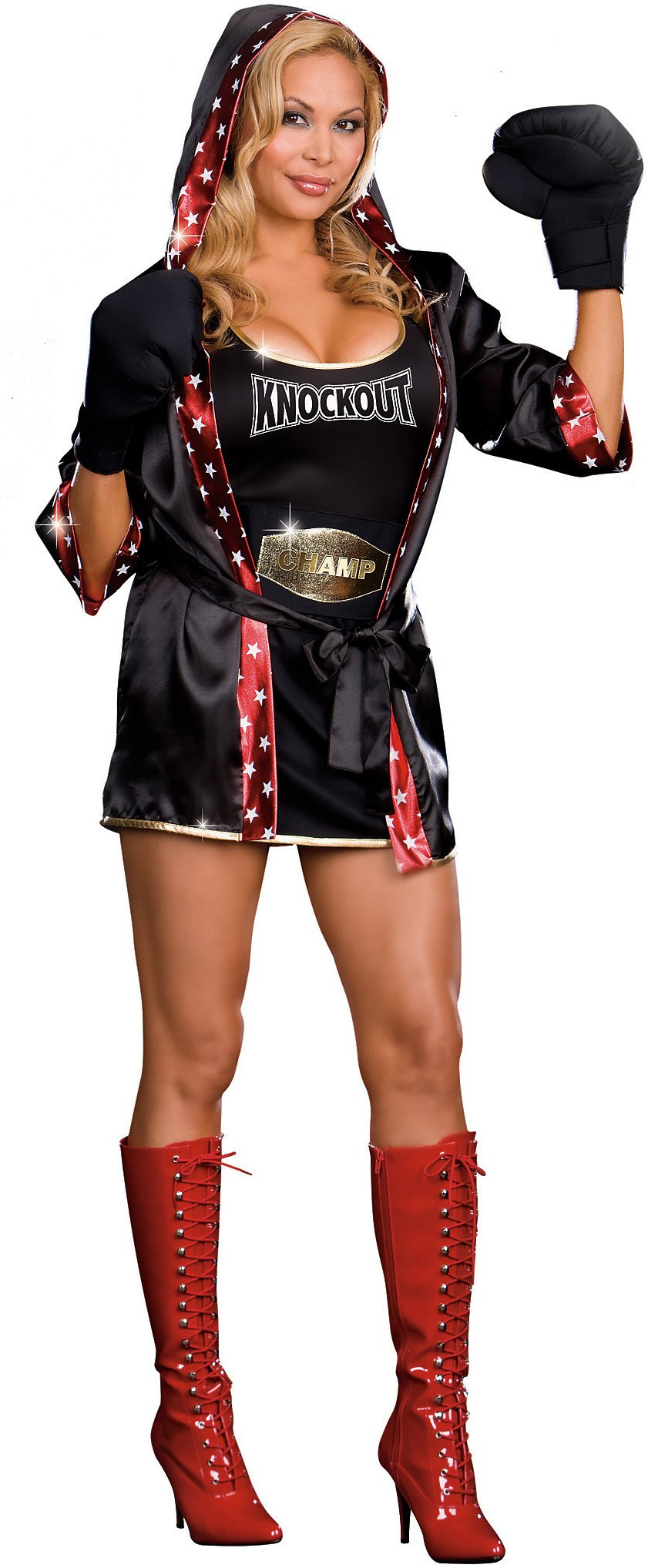 TKO: Total Knock Out (Convertible) Adult Plus Costume