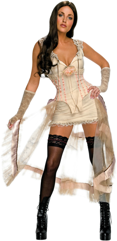 Jonah Hex - Lilah (White Look) Adult Costume