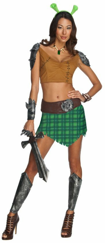 Shrek Forever After - Sexy Fiona Warrior Adult Costume