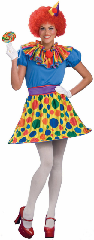Ragdoll/Clown 2-in-1 Adult Costume