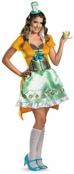 Sexy Mad Hatter Adult Costume