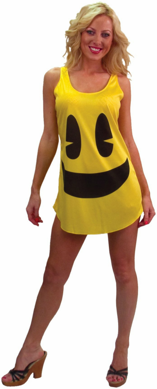 Pac-Man Deluxe Tank Dress Adult Costume