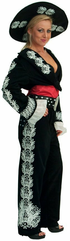 The Three Amigos Deluxe (Women's) Adult Costume