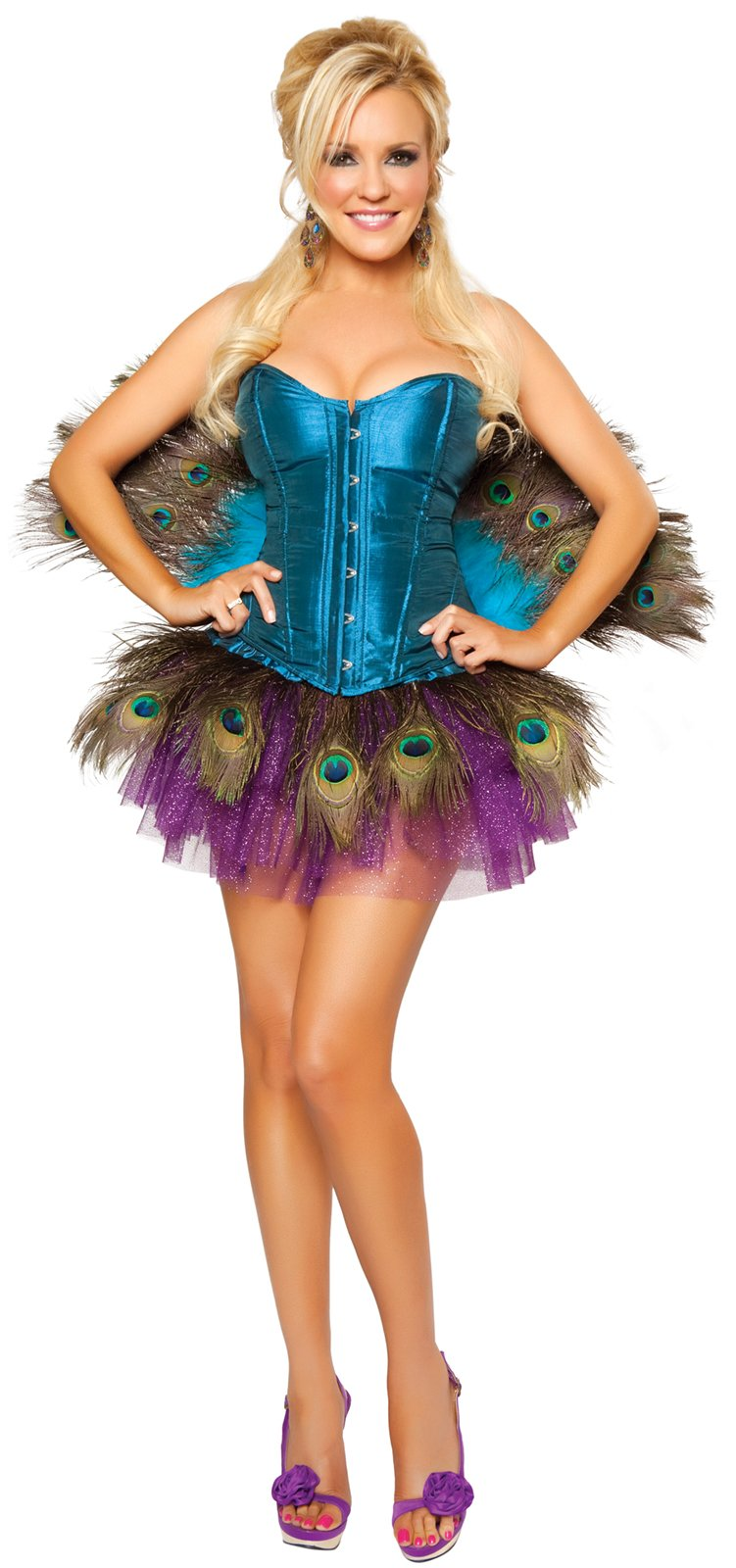 Peachick Adult Costume