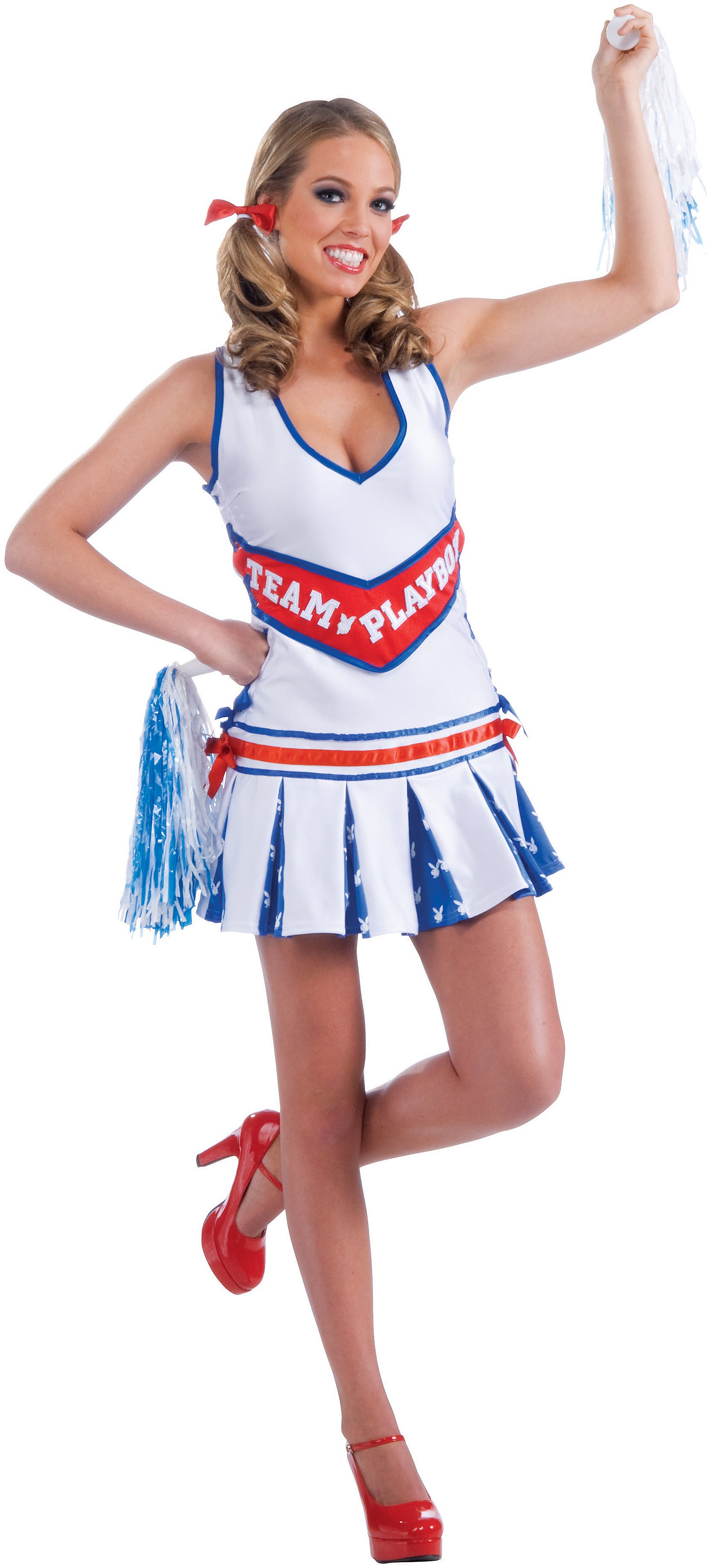 Playboy Cheerleader Adult Plus Costume