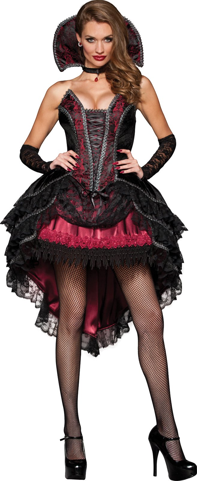 Enchanting Vampiress Vixen Adult Costume