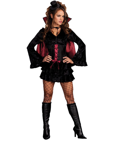 Sexy Bella Vamp Women's Vampiress Costume