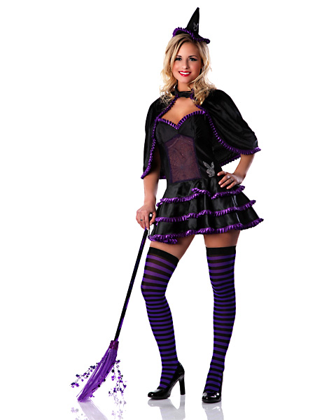 Womens Playboy Witch Sexy Costume