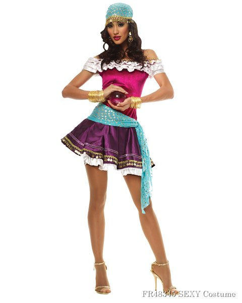 Sexy Fortune Teller Womens Costume