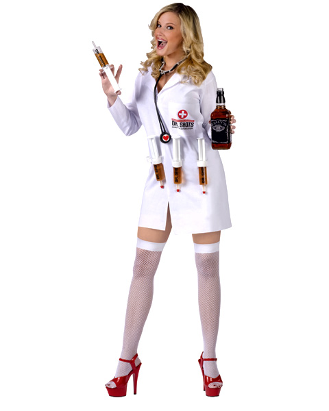 Womens Sexy Dr Shots Costume Costumes Life