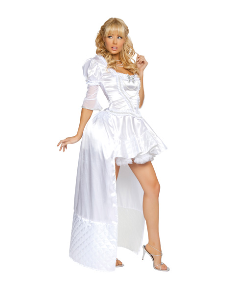 Sexy White Queen Deluxe Womens Costume