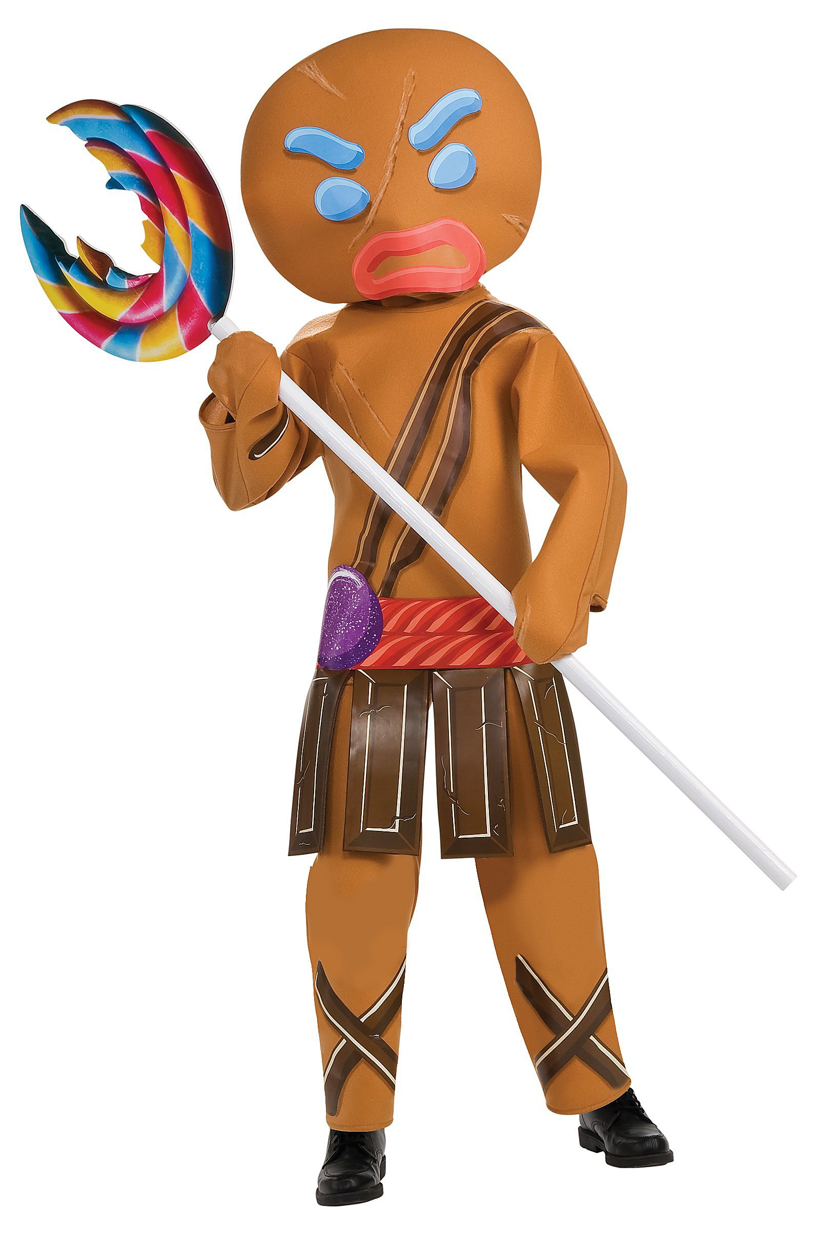 Shrek Forever After - Gingerbread Warrior Child Costume