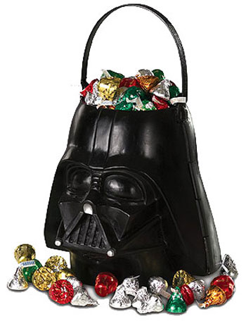 Darth Vader Trick or Treat Pail