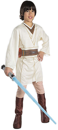 Large Child Obi Wan Kenobi Costume