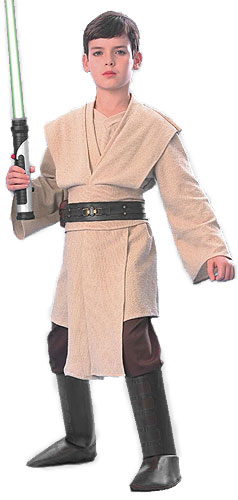 Kids Super Deluxe Jedi Costume - Click Image to Close