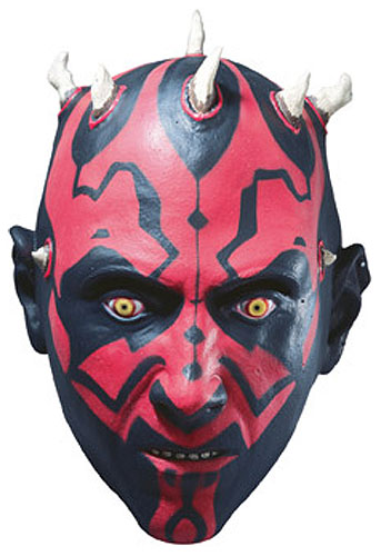 Child Darth Maul Latex Mask