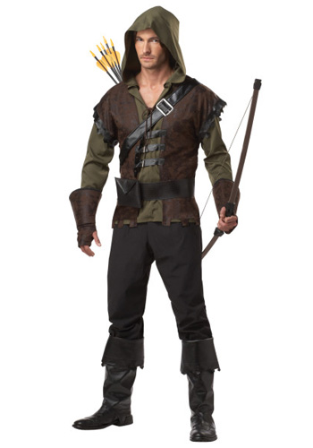 Mens Robin Hood Costume - Click Image to Close