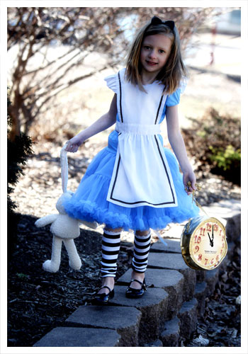 Child Tutu Alice Costume