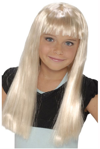 Child Blonde Alice Wig
