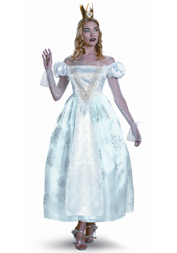 Womens White Queen Costume