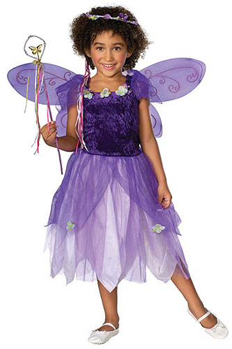 Girls Purple Pixie Costume