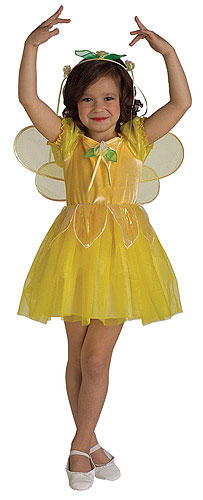Kid's Buttercup Fairy Costume