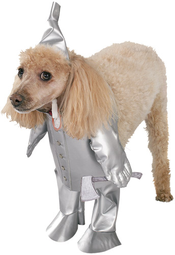 Tin Man Pet Costume