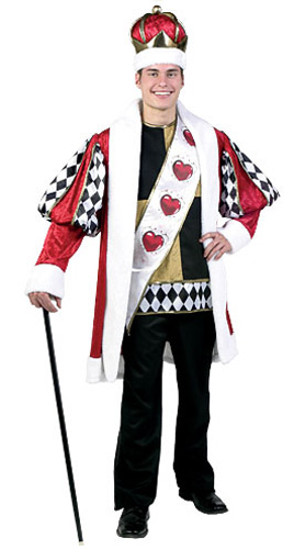 Plus Size Deluxe King of Hearts Costume