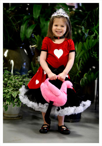 Toddler Tutu Queen of Hearts Costume