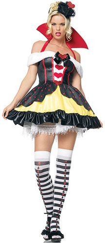 Queen of Hearts Sexy Costume