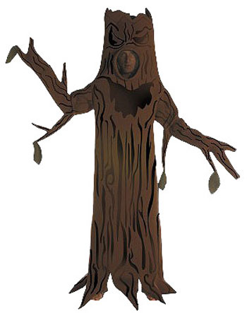 Adult Deluxe Scary Tree Costume