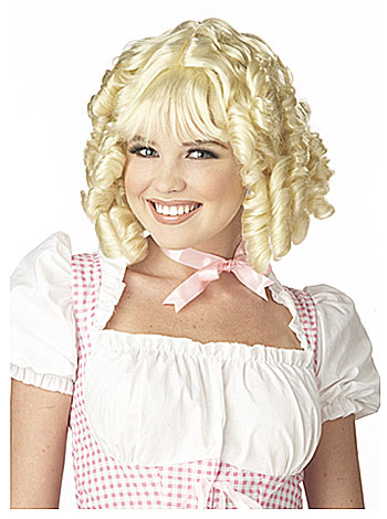 Blonde Sugar and Spice Wig