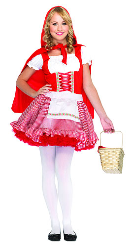 Teen Red Riding Hood Costume