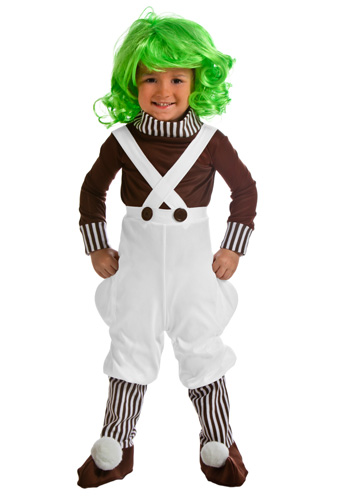 Toddler Chocolate Factory Worker Costume - Click Image to Close