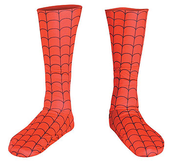 Kids Spiderman Boot Covers