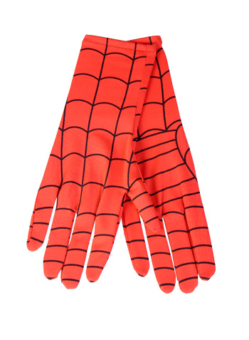 Kids Deluxe Spiderman Long Gloves