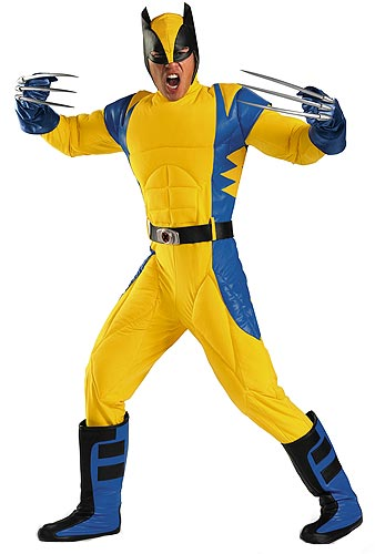 Authentic Wolverine Origins Costume