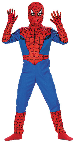 Toddler Boys Spiderman Costume