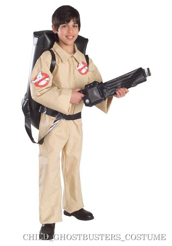 Small Kids Ghostbusters Costume