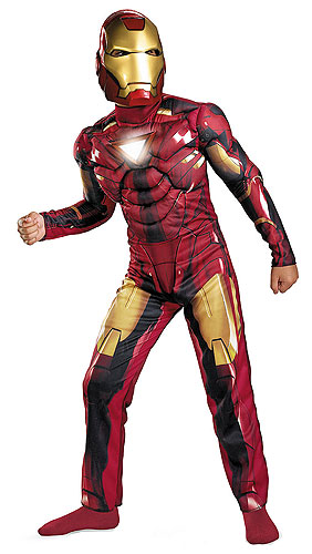 Child Iron Man Mark 6 Light-Up Costume